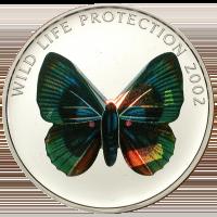Butterfly green-blue CuNi