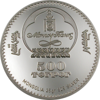 Marco Polo & Khubilai Khan – Silver