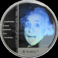 Albert Einstein – Silver