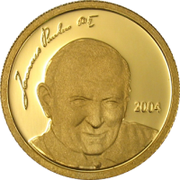 Gold – Jean Paul II