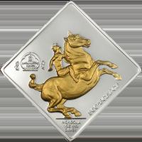 Equestrian – gilded