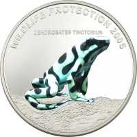 Frog – green Dendrobates Tinctorius