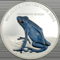 Frog – blue Dendrobates Azureus