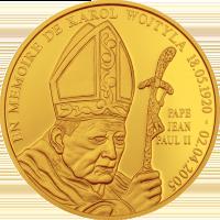 John Paul II Memoriam – Gold