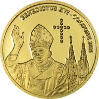 Benedict XVI Cologne – Gold