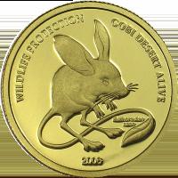 Long-eared Jerboa – gold