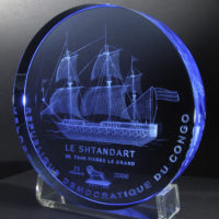 The Shtandart – blue acrylic