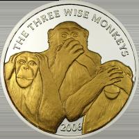 Monkeys – silver