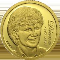Diana  – gold