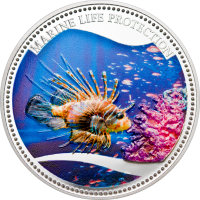 Red Lionfish – Silver