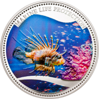 Red Lionfish – Copper-nickel