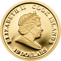 Barack Obama – Gold 13.92 mm