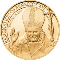 Resignation of Benedict XVI – goldplated