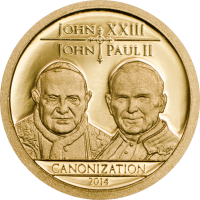 Canonization of the Popes – Au