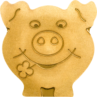 Golden Lucky Pig
