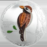 Quilling Art Bird