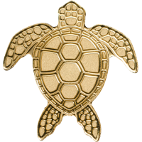 Golden Sea Turtle
