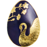 Golden Swan Egg