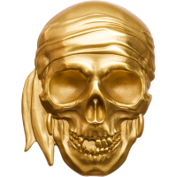 Pirate Skull – Blackbeard Gold Edition