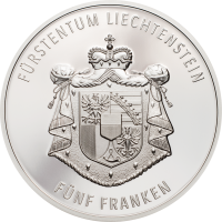 300 Year Liechtenstein 5.-