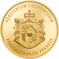 300 Years Liechtenstein 25.-