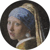 Great Mosaic – Girl with a Pearl Earring