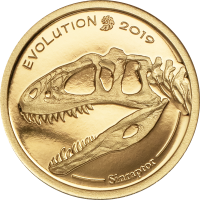 Golden Sinraptor – Evolution of Life