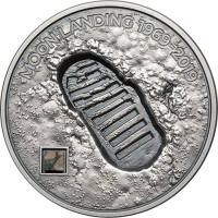 Moon Landing 1969 – Footprint