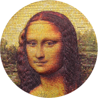 Great Micromosaic – Mona Lisa