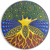 Tree of Life – Dot Art & Pontillism