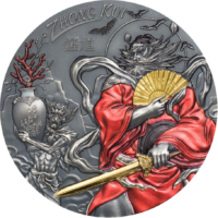 Gilded Zhong Kui – Asian Mythology
