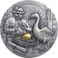 Goose and Golden Egg – Fables