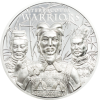 Terracotta Warriors Silver 1 oz
