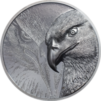 Majestic Eagle Silver 2 oz Black Proof