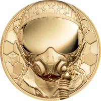 Fighter Pilot Gold 1 oz – Real Heroes