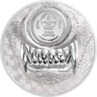 Mystic Wolf Silver 1 oz