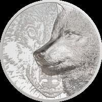 Mystic Wolf Silver 3 oz