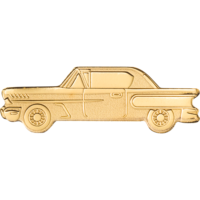 Golden Classic Car