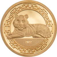 Year of the Tiger Gold