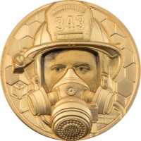 Firefighter Gold 1 oz – Real Heroes