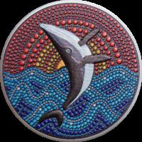 The Whale – Dot Art