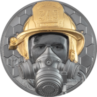 Firefighter Gold 5 oz – Real Heroes