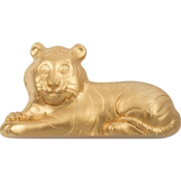 Gilded Charming Tiger