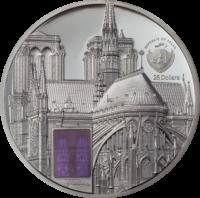 Metropolis Art Tiffany – Notre-Dame Black Proof